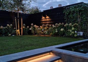 tuin aanleg Kesteren met vijver